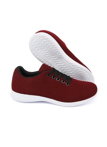 Letoon 2065 Kadın Günlük  Ayakkabı Bordo